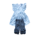 bulk wholesale toddler`s children clothes summer kids baby raglan shirt icing shorts girls fancy price clothes