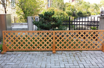Houten Hekwerk Tuin : Tuin decoratieve houten tuin rooster hek buy houten hek houten