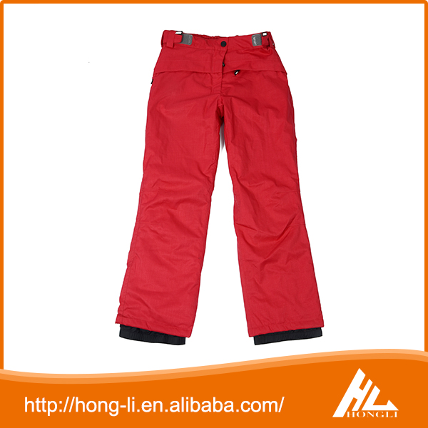 Wholesale high quality winter waterproof breathable snowboard ski pants for girls