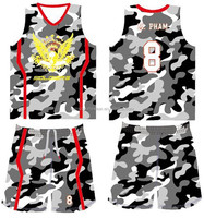Sublimated buy cheap new design basketball jerseys online