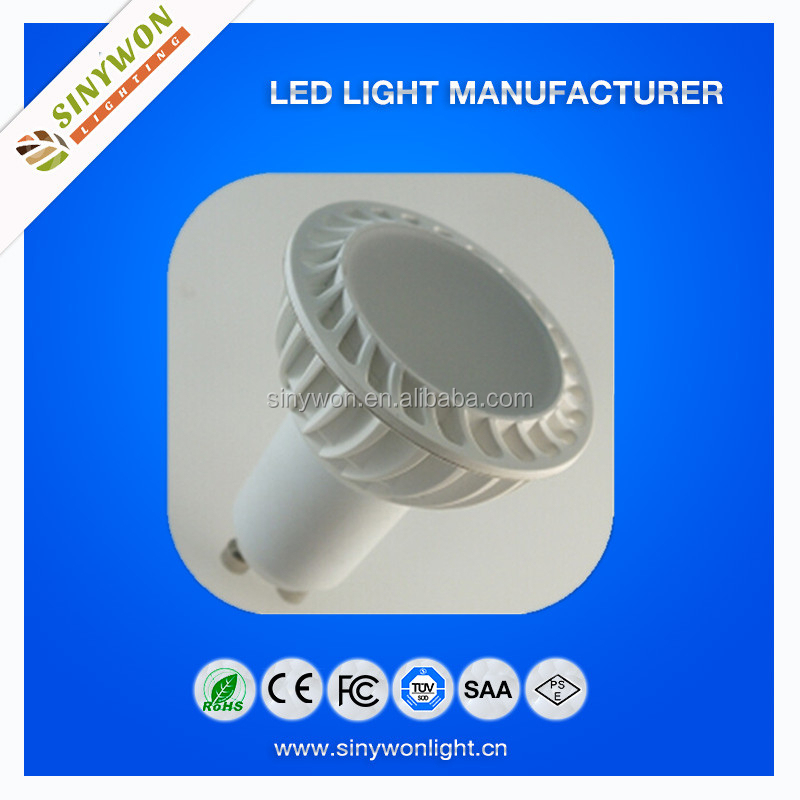Made In China 5w Gu10 Dimmable Led Track Spot Light