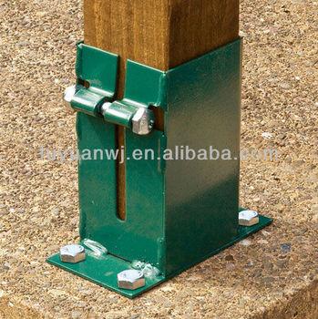 Hot Sale Metal Fence Post Base Plate Manufacturer Buy