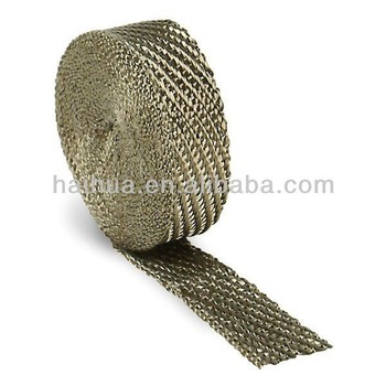 Natural Basalt Fiber Automobile/motorcycle Exhaust Wrap Thermal Heat Wrap  2in  Width 15m Length - Buy Automobile Wrap,Motorcycle Exhaust Wrap,Thermal