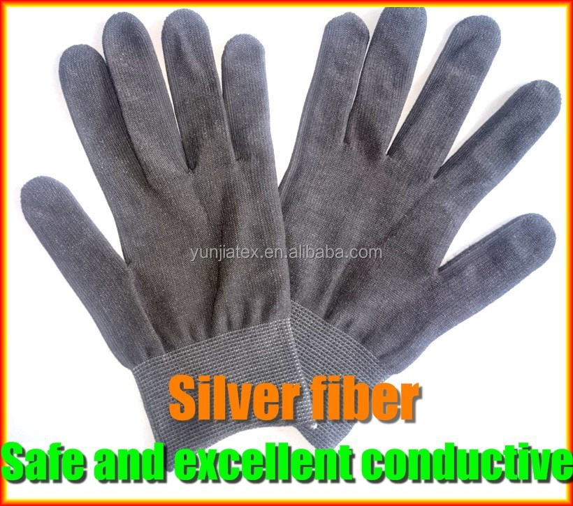 Silver fiber magic hand massage gloves