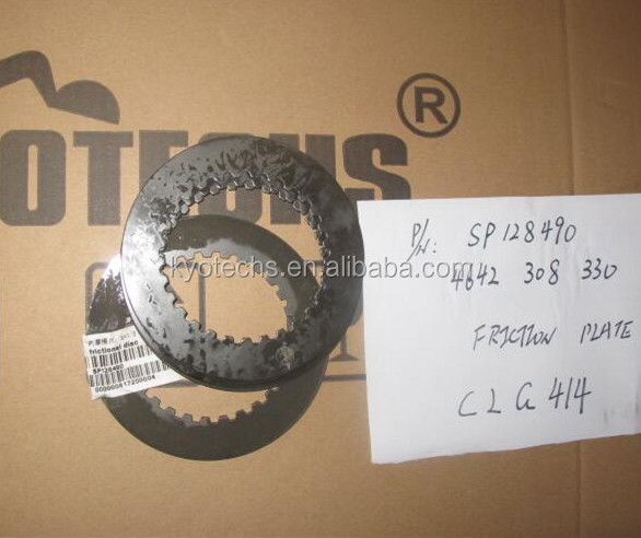 FRICTION PLATE FOR SP128490 4642308330 CLG414 CLG915 CLG920 KYOTECHSLIUGONGOEM