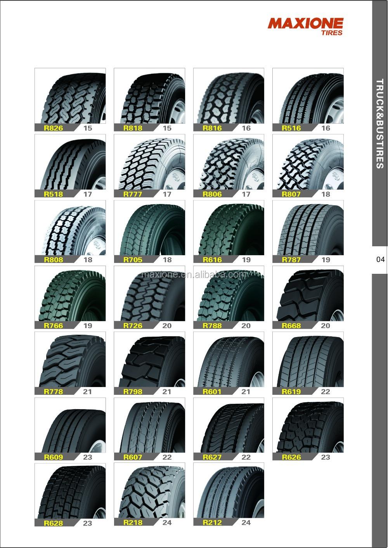 245/70/19.5 Tires For Heavy Trucks Brand Triangle,Doublestar ...