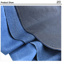 Anti-pilling Enviroment Protect 4 way stretch denim fabric