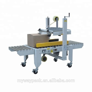 Hot sale auto folded carton sealing machine
