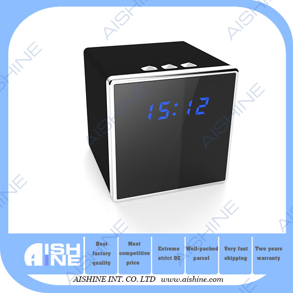IR Network Home Security Nanny Cam hd 1080p hidden dvr mini video security wifi mini table clock camera