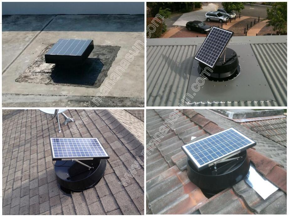 30w Solar Attic Fan For 2300 Sq Ft Area Ventilation Buy