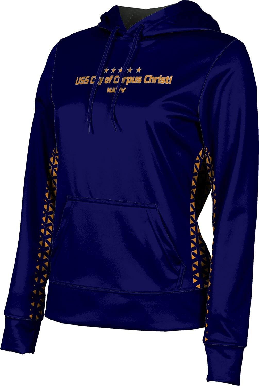 Girls' USS City of Corpus Christi Military Geometric Hoodie Sweatshirt (Apparel)