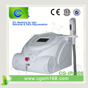 CG-IPL600 New Technology ipl shr handpieces for face lift effect lasting