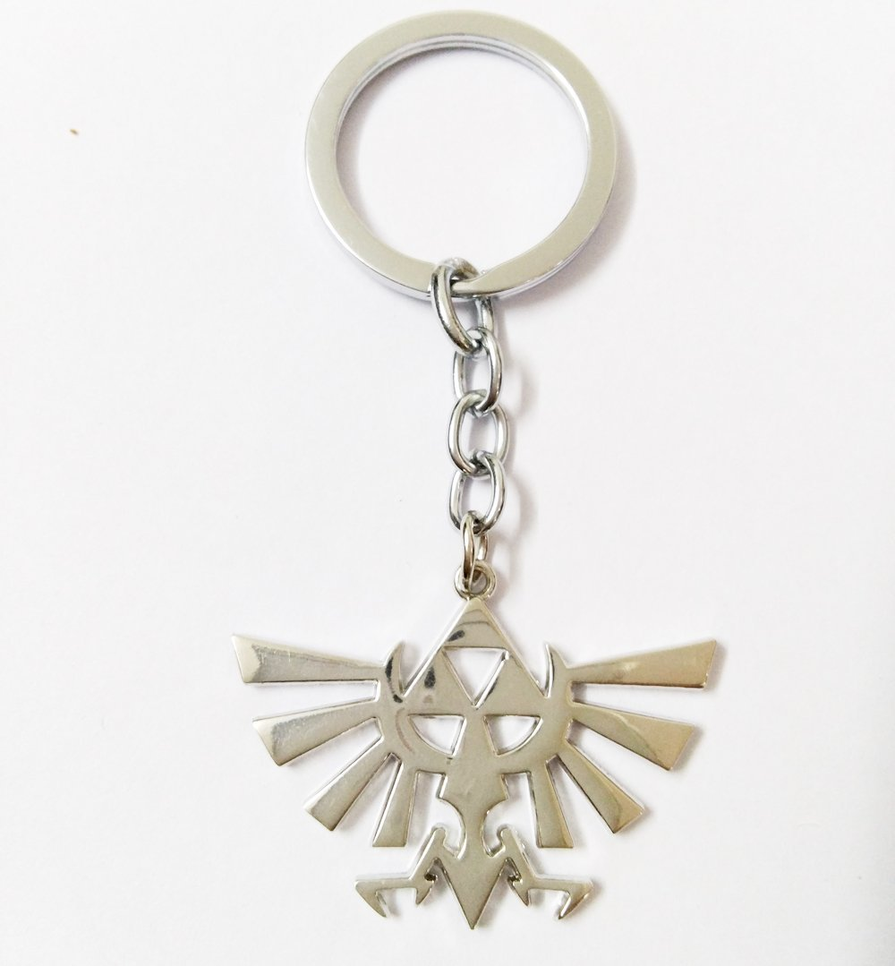 Buy The Legend Of Zelda Triforce Symbol Metal Keychain Anime Key