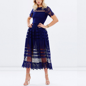 Fashion Women Clothes Lace Maxi Evening Dress Gowns Designs