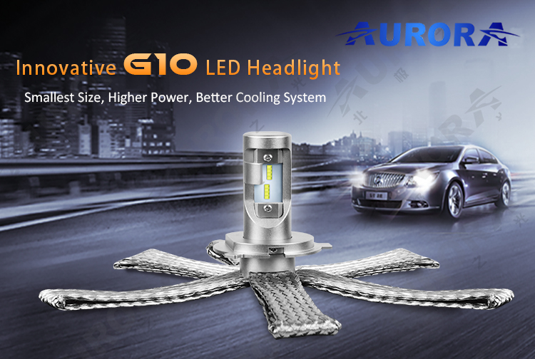 Wholesale H4 H7 H11 H13 9005 Led Electric Car Conversion Kit HB3 HB4 E-mark led Headlight Bulbs