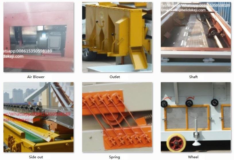 Teff Samen Gravity Separator Maschine mit Aufzug