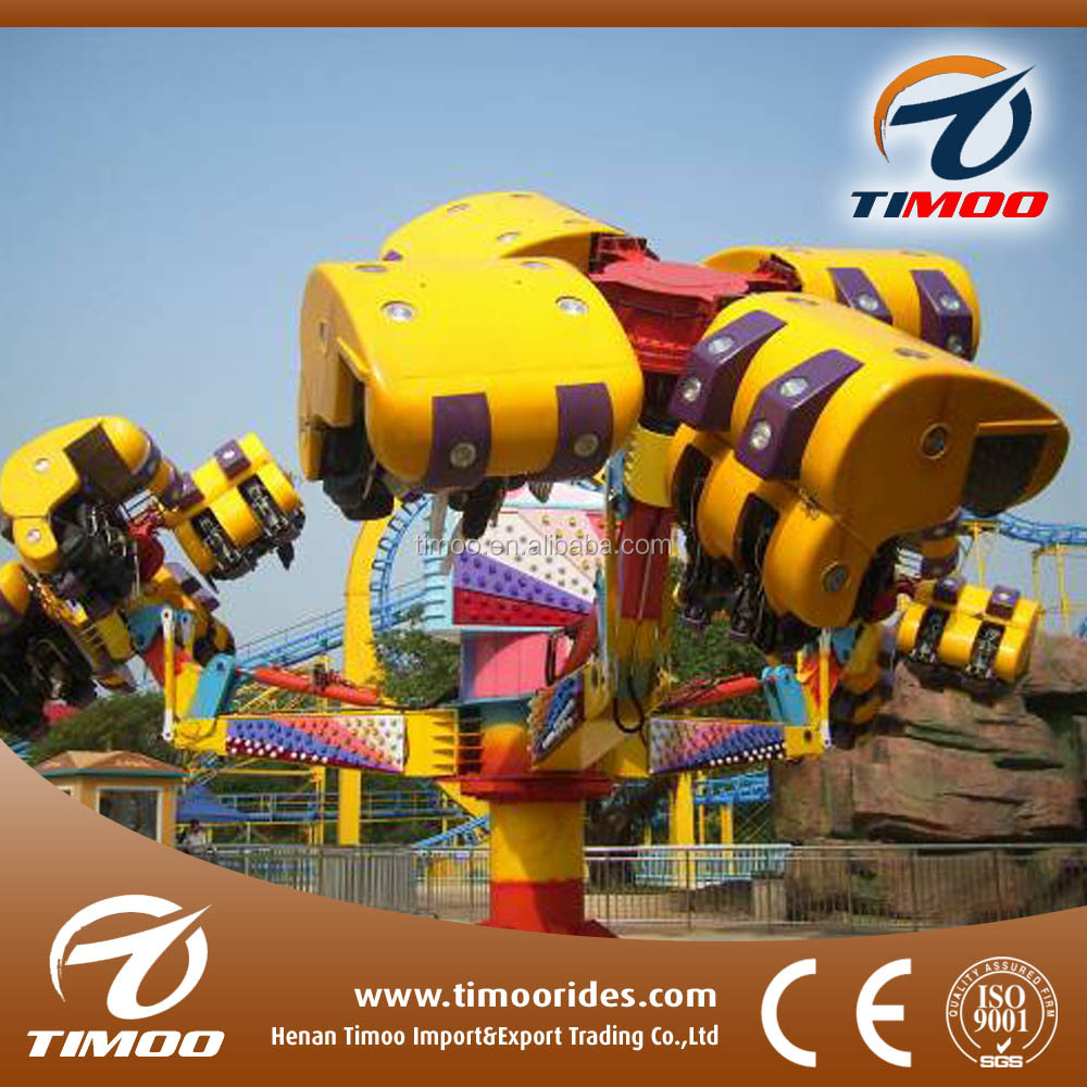 Top fun family rides theme park attractions energy storm rides in amusement parks