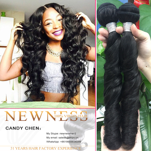 Double machine weaving cheap virgin brazilian afro twist braid hair extension