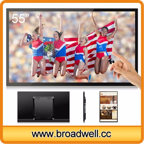 BW-MC5501_9 55 Inch RK3288 Quad Core A17 Android 5.1 Full HD 2GB Memory 16GB Storage Ten Point Capacitive Touch Screen Android TV