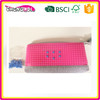 super style OEM fancy magnetic pencil case clear plastic pencil case