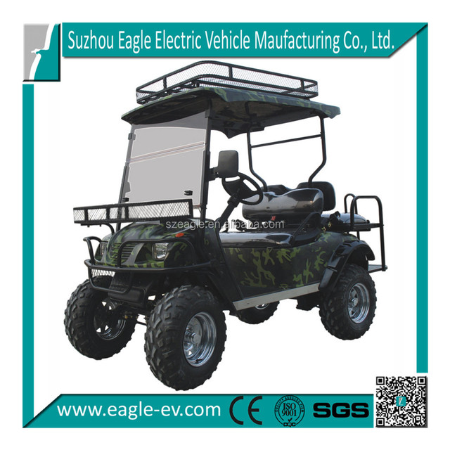 4 Seats electric 48v hunting golf buggy, atv, 4 Seats with Foldable Seat, Eg2020asz