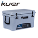 Kuer 2017 deluxe ripstop beach picnic rolling ice cooler box with relief valve