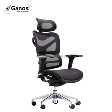BIFMA computer swivel racing office chair with footrest