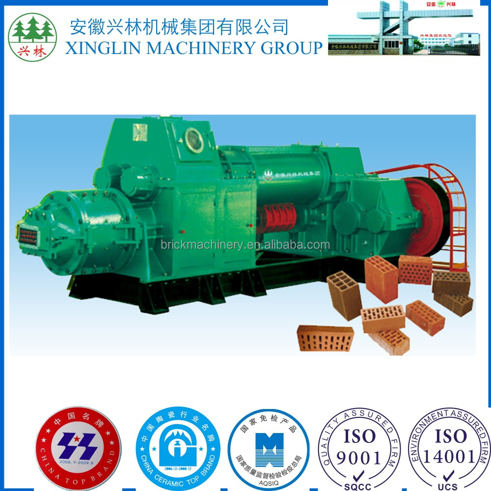 Hot-sale Energy Saving Compact brick making machine for clay fired brick production line