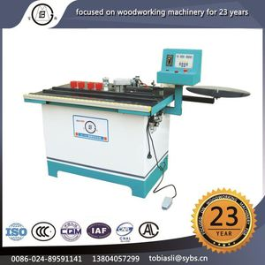 MF-506 Best selling low price plank multifunction semi-automatic wood edge bonding machine