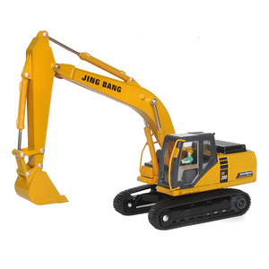 Excavator model toys diecast toy vehicles metal 1:50 scale construction  truck engineering car