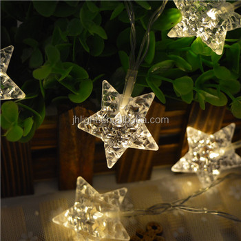 Led Battery Star Fairy LightsEverlasting Glow Led Light Strings
