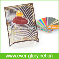 Stand Up Decorative Chocolate Packaging Plastic Bags With Logo