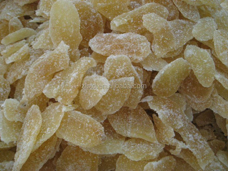 Healthy Soft Candy Crystallized Ginger