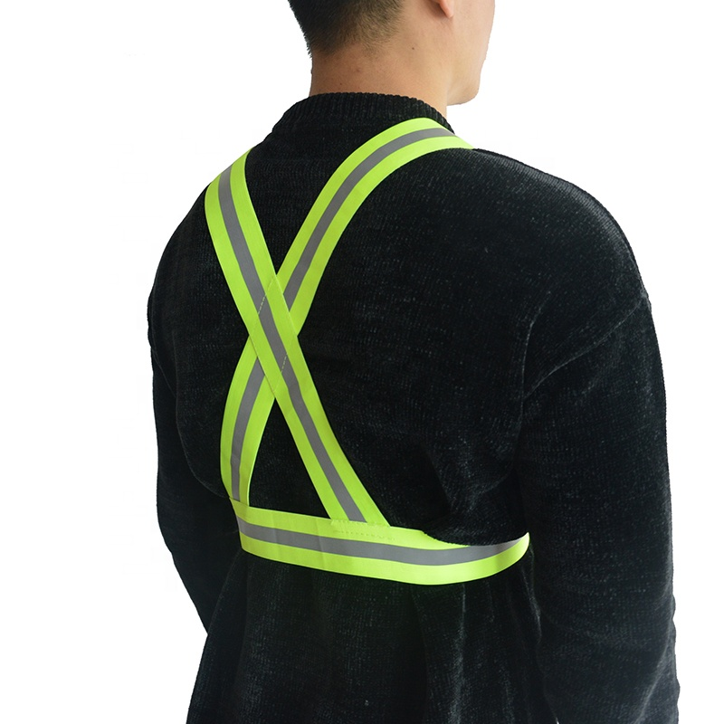 High Visibility Reflective Vest <strong>Safety</strong> for Night Running Walking Construction for Kids Men Women