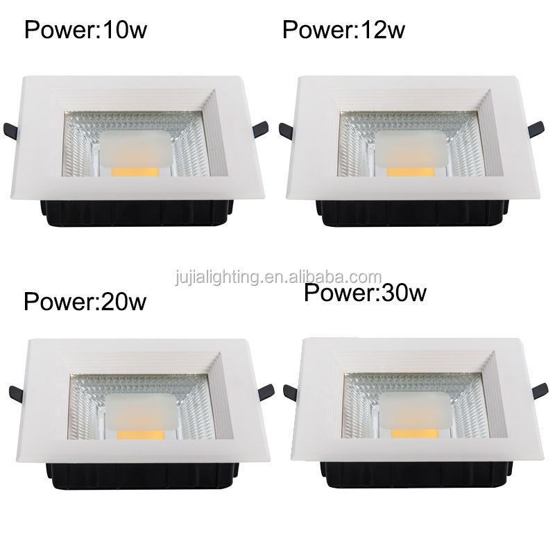 China Manufacture Cob Down Light Led Square 8 Inch Recessed 15 ...