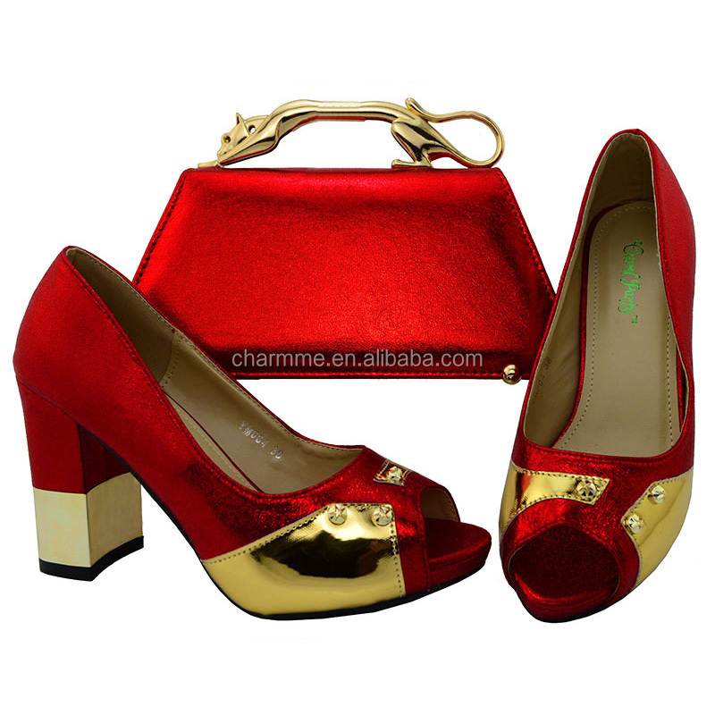 african with Italian leather and Ladies set set cultch shoes genuine party bag shoes and nAYHHxzwq