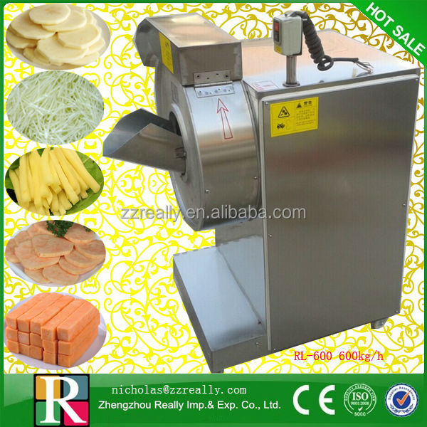 High quality electric carrot julienne cutting machine