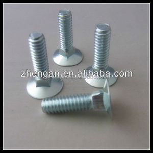 LEITE China Fastener Manufacturer M10 Hollow Threaded Bolts With Hole