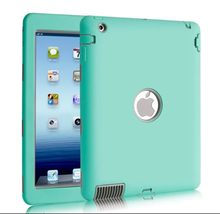 alibaba stock Unique Simple front and back tpu case for ipad 2 3 4 case 360 for ipad smart cover silicone back cover phone cover