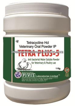 Tetracycline Hydrochloride Soluble Powder For Rabbits