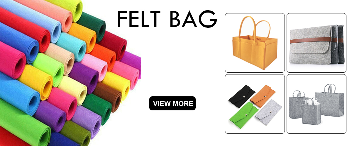 b4342bc7b5656 Durable Eco-Friendly Felt Clothing Storage basket.  2.00 -  4.00 Pieces.  500 Pieces(Min. Order). Extra Large Capacity felt makeup organizer Travel  Bag ...