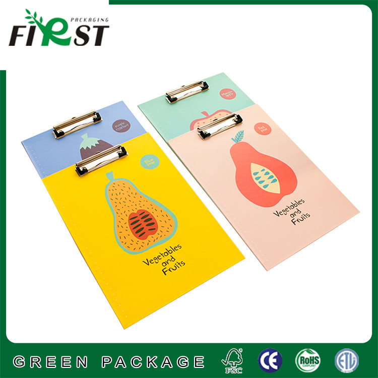 Paper holder clipboard with handy ruler/high quality paper metal clipboard/Popular design A4 Paper file folder with Iron