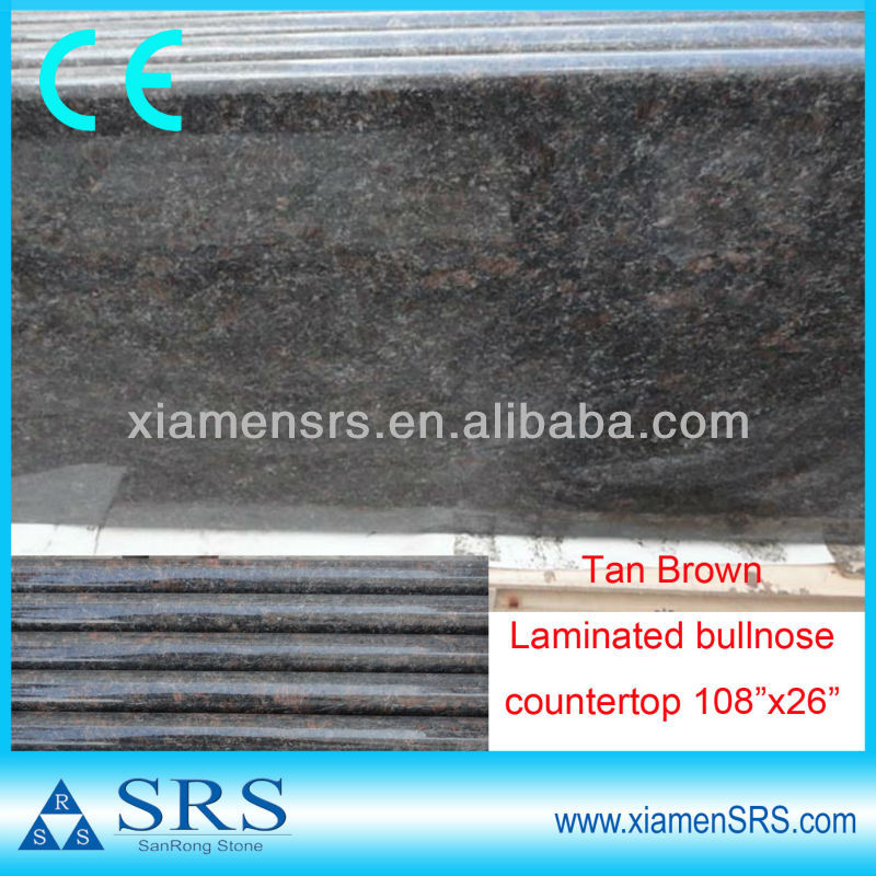 Wholesale bullnose Tan brown laminate countertops lowes