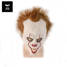 Halloween Kostuum-Stephen King's het <span class=keywords><strong>Masker</strong></span> Halloween Scary <span class=keywords><strong>Latex</strong></span> <span class=keywords><strong>Masker</strong></span> Cosplay Halloween Clown Horror <span class=keywords><strong>Masker</strong></span> Creepy