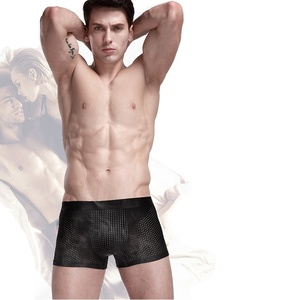 Wholesale sexy Magnetic Health Care underwear for men Modern Boxer Sports Briefs Shorts