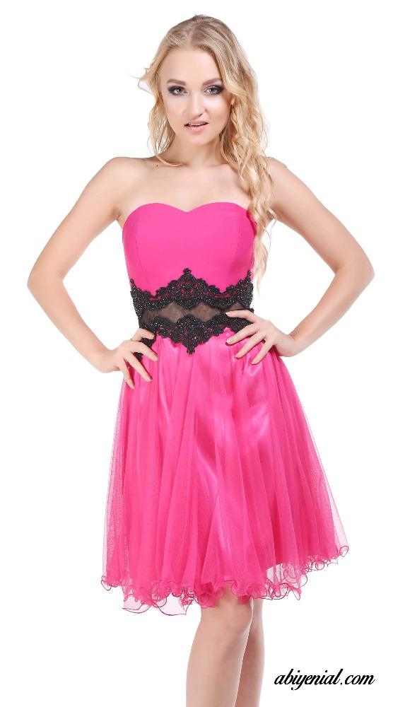 BAM1012 pretty novia de escote espalda formal vestidos Keen longitud ...