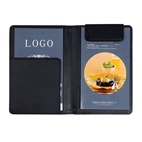 Check Presenter Restaurant Money Receipt Cover PU Leather