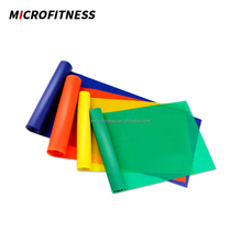 Colorful exercise resistance rubber latex band roll