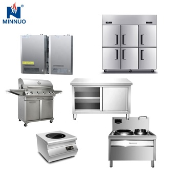 Professional kitchen equipment suppliers provide high quality complete set of table equipment