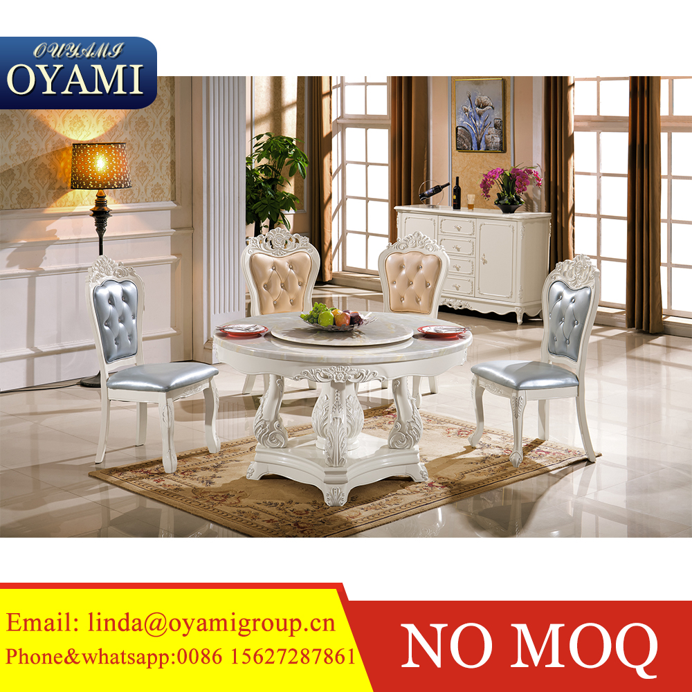 Hot Sell Made In China Solid Wood Antique Dining Room Set Furniture